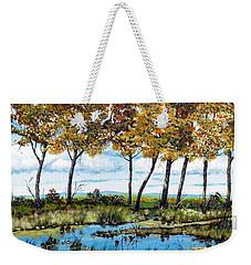 Dawn's Blue Waters Edge  Weekender Tote Bag