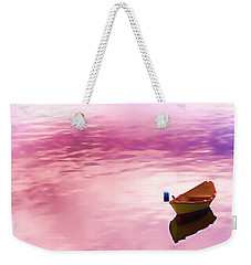 Dawns Light Reflected Weekender Tote Bag by Jeff Folger