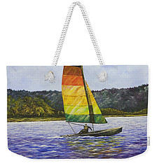 Day At The Lake Weekender Tote Bag