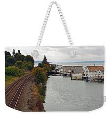 Day Island Bridge View 2 Weekender Tote Bag