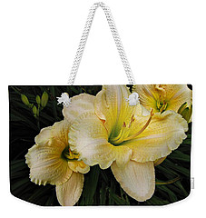 Day Lilies A Short Life Weekender Tote Bag