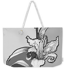 Weekender Tote Bag featuring the digital art Day Lillies by Carol Jacobs