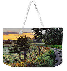 Daybreak Southwest Corner Fenceline Weekender Tote Bag