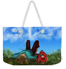 Daydreaming Weekender Tote Bag by Rosa Cobos