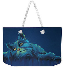 Weekender Tote Bag featuring the drawing Daydreams by Cynthia House
