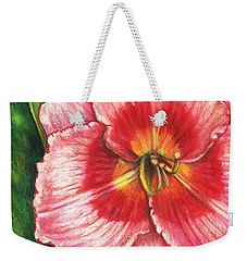 Daylily Delight Weekender Tote Bag by Shana Rowe Jackson