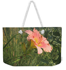 Daylily In The Sun Weekender Tote Bag