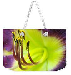 Daylily Macro 2 Weekender Tote Bag