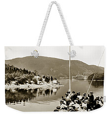 Dayliner At The Narrows In Sepia Tone Weekender Tote Bag