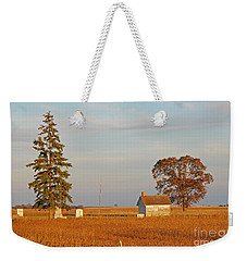 Weekender Tote Bag featuring the photograph Days End by Mary Carol Story