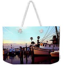 Daytona Beach Fl Last Chance Miss Hazel And Sonny Boy Weekender Tote Bag