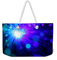 Dazzling Blue Weekender Tote Bag