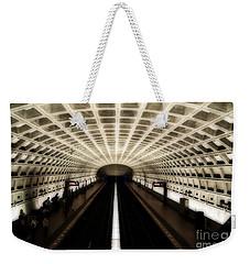 Dc Metro Weekender Tote Bag by Angela DeFrias