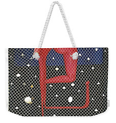 Weekender Tote Bag featuring the painting De Ja Vu_sold by Fei A