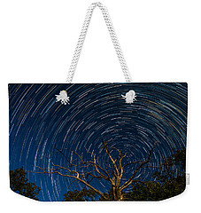 Dead Oak With Star Trails Weekender Tote Bag