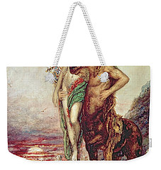 Dead Poet Borne By Centaur Weekender Tote Bag by Gustave Moreau