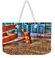 Dealing Justice Weekender Tote Bag