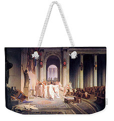 Death Of Caesar Weekender Tote Bag