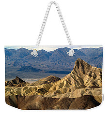 Death Valley Np Zabriskie Point 11 Weekender Tote Bag