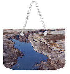 Death Valley Salt Stream 1 Weekender Tote Bag