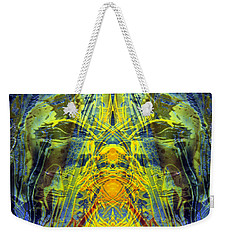 Decalcomaniac Intersection 1 Weekender Tote Bag by Otto Rapp