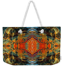 Decalcomaniac Intersection 2 Weekender Tote Bag by Otto Rapp