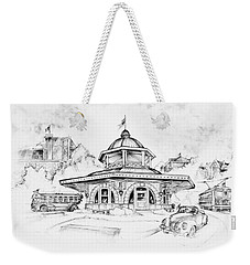 Decatur Transfer House Weekender Tote Bag by Scott and Dixie Wiley