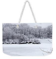 December Lake Weekender Tote Bag