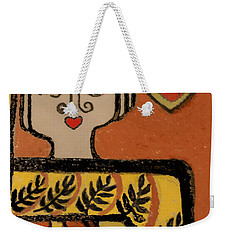 Deco Queen Of Hearts Weekender Tote Bag