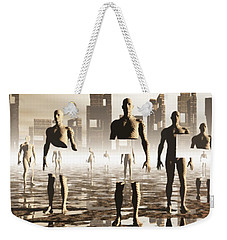 Deconstruction Weekender Tote Bag by John Alexander