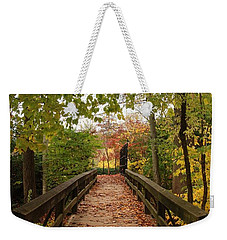 Decorate With Leaves - Holmdel Park Weekender Tote Bag