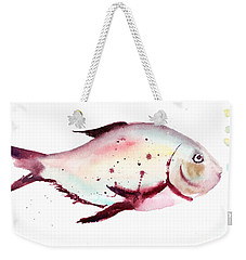 Decorative Fish Weekender Tote Bag