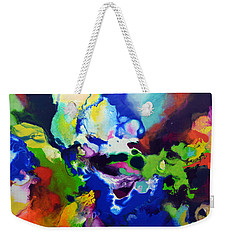 Decorum Weekender Tote Bag by Sally Trace