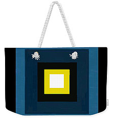 Deep Blue Magic Weekender Tote Bag