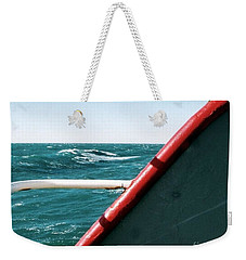 Weekender Tote Bag featuring the photograph Deep Blue Sea Of The Gulf Of Mexico Off The Coast Of Louisiana Louisiana by Michael Hoard