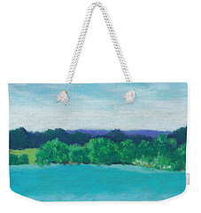 Deep Breath Weekender Tote Bag