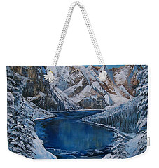 Deep Dark  And Cold Weekender Tote Bag