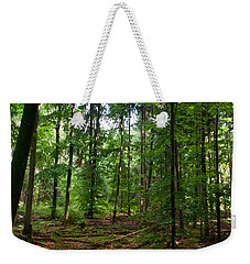 Deep Forest Trails Weekender Tote Bag by Miguel Winterpacht