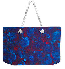 Weekender Tote Bag featuring the painting Deep by Jacqueline McReynolds