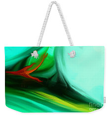 Deep Sea Weekender Tote Bag by Anita Lewis