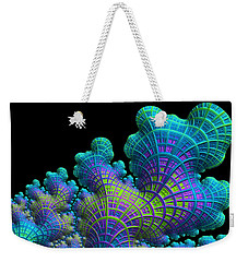 Deep Sea Coral Weekender Tote Bag by Susan Maxwell Schmidt