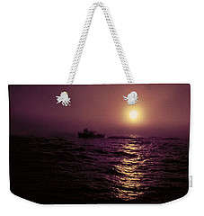Deep Sea Fishing Off West Port Wa II Weekender Tote Bag
