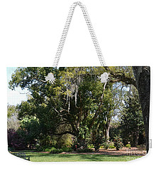 Weekender Tote Bag featuring the photograph Deep South Scenery by Carol  Bradley