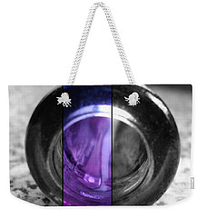 Weekender Tote Bag featuring the photograph Deep Thoughts Part Three by Sir Josef - Social Critic - ART