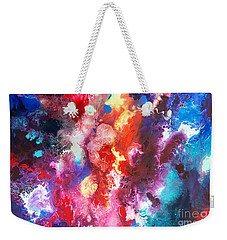 Deep Water Coral Weekender Tote Bag