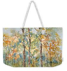 Deep Woods Waskesiu Weekender Tote Bag by Pat Katz