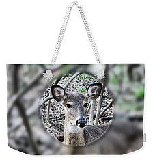 Deer Hunter's View Weekender Tote Bag
