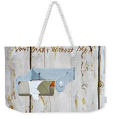 Deer Lease Dilemma Weekender Tote Bag