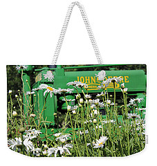 Weekender Tote Bag featuring the photograph Deere 1 by Lynn Sprowl