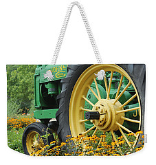 Weekender Tote Bag featuring the photograph Deere 2 by Lynn Sprowl